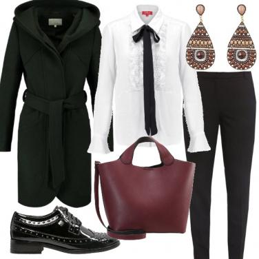Outfit Nero con il fiocco