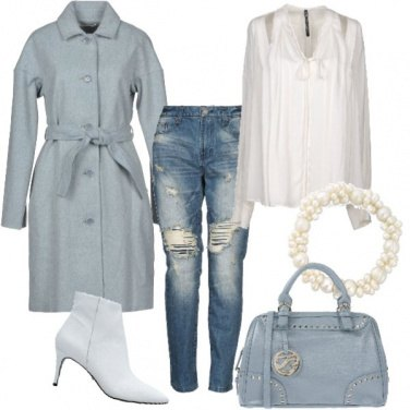 Outfit Azzurro autunnale