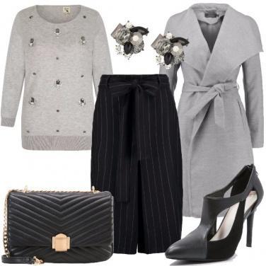Outfit Bagliori di grigio