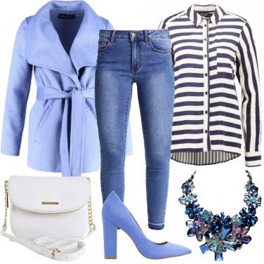 Outfit Blu lavanda