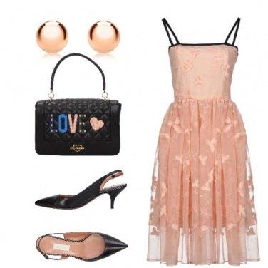 Outfit Romantico rosa