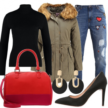 Outfit I jeans customizzati
