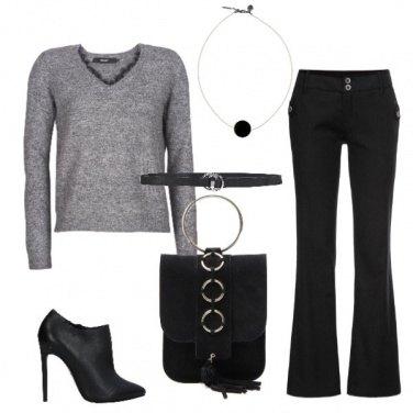 Outfit Il maglioncino da sera