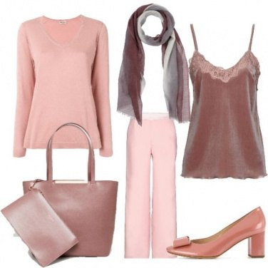 Outfit Sfumature delicate