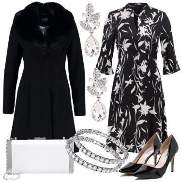 Outfit Fiori e cristalli