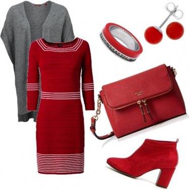 Outfit La vie en rouge...
