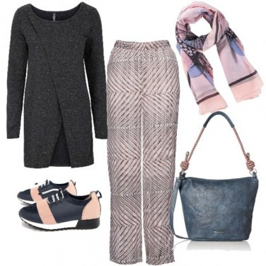 Outfit Rosa, blu & Co.
