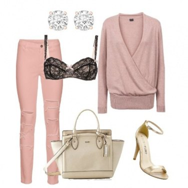 Outfit Rose and gold