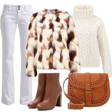 Outfit Ai mercatini in un giorno di festa