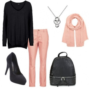 Outfit Maglia a V