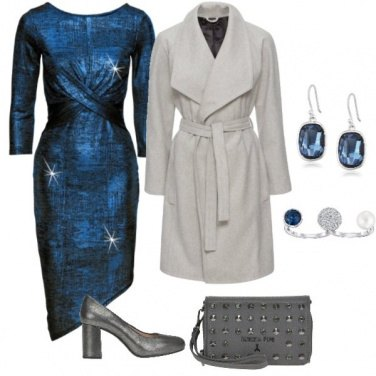 Outfit Swarovski blu
