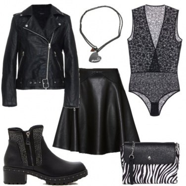 Outfit Sexy rock