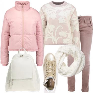 Outfit Sfumature del rosa