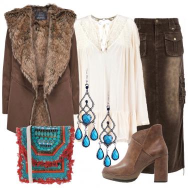 Outfit Ispirazione anni settanta