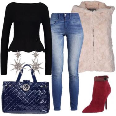 Outfit In ufficio con i jeans