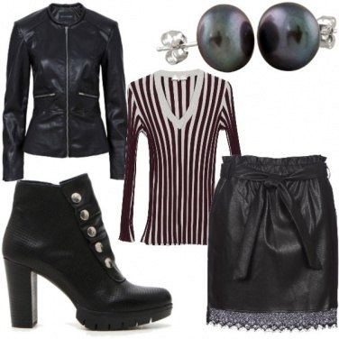 Outfit Zebra in the city