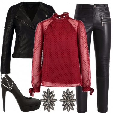 Outfit Natale rock