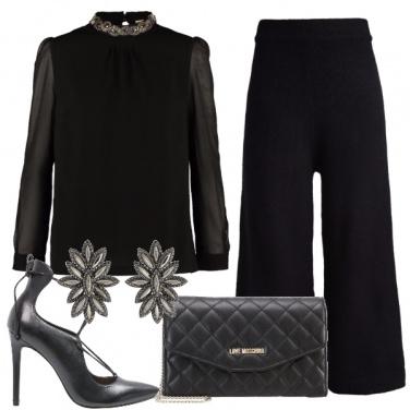 Outfit Il tutto nero