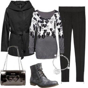 Outfit Donna Di cuori