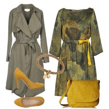 Outfit Mi vesto di foglie