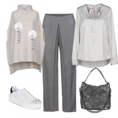 Outfit Casual Grey 2