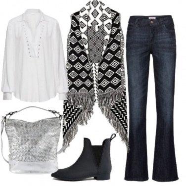 Outfit Una specie di hippy