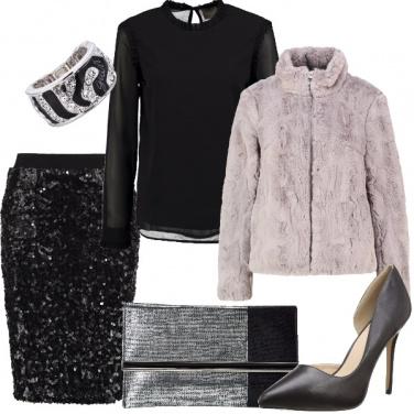Outfit Fine anno con bollicine