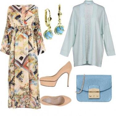 Outfit Scampoli di cielo azzurro