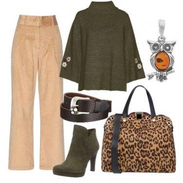 Outfit La shopping bag leo e il gufetto
