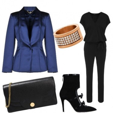 Outfit Chic blue