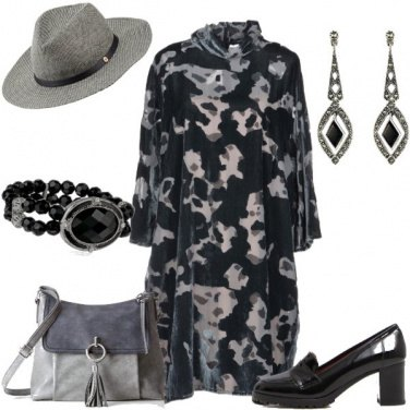 Outfit Abito camouflage