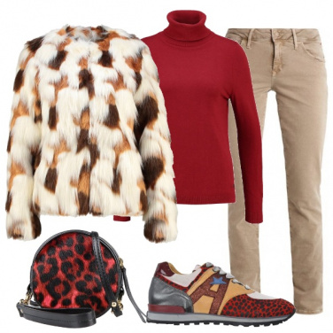 Outfit Lunedì casual