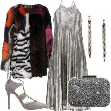 Outfit Argento da sera
