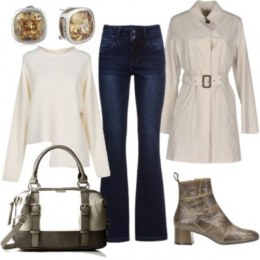 Outfit Stivaletto e trench