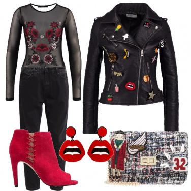 Outfit Eccentricamente rock
