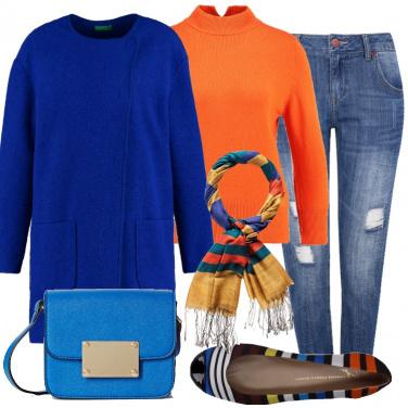 Outfit Largo ai colori vivaci