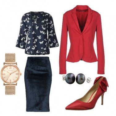 Outfit Fiocchi in rosso