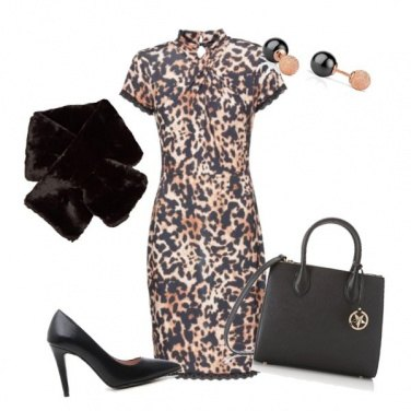 Outfit Animalier minimal