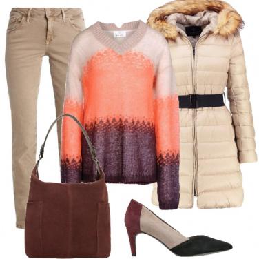 Outfit Calde tonalità