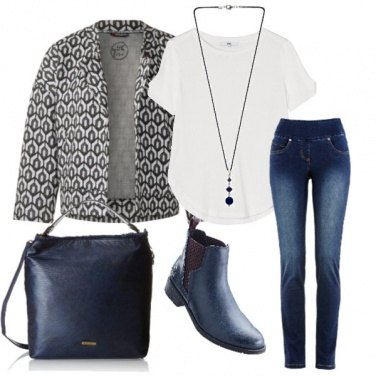 Outfit City blue