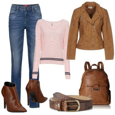 Outfit Sempre attuale in jeans