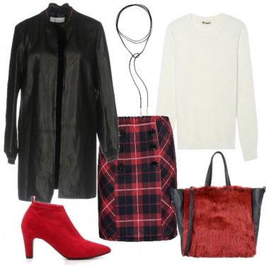Outfit Scozzese tosta