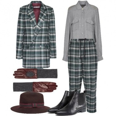 Outfit Completo Mannish