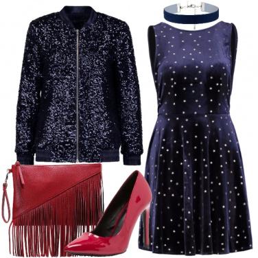 Outfit Tempestata di stelle a Capodanno