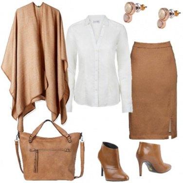 Outfit Trend d\'autunno: la mantella