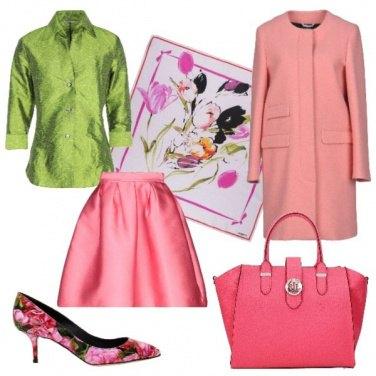 Outfit Rose e tulipani
