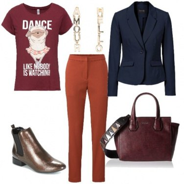 Outfit Globe-trotter