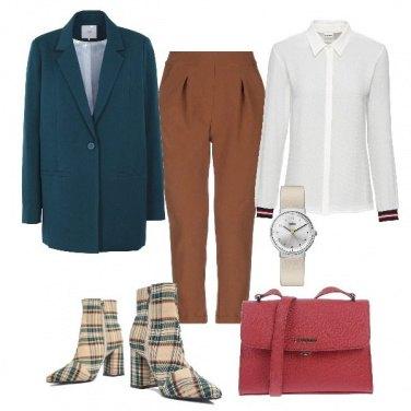 Outfit Stivaletti tartan
