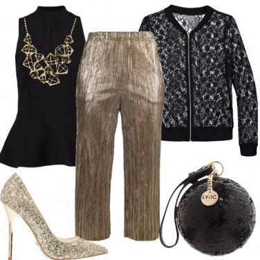 Outfit Capodanno d\'oro