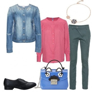 Outfit La giacca di jeans